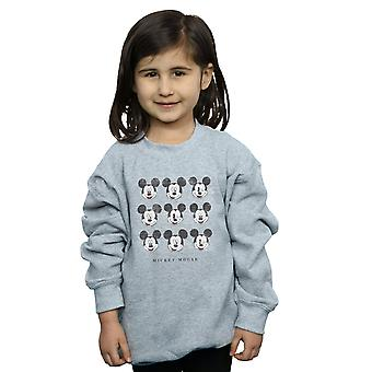 Disney Girls Mickey Mouse Wink And Smile Sweatshirt