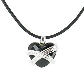 Heartbreaker by Dragon rock ladies silver pendant chain LR ON 42
