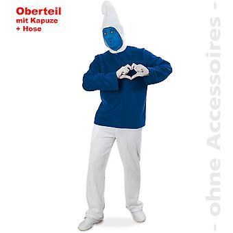 Blå dverg kostyme mens dverg kostyme blå GNOME kostyme menn