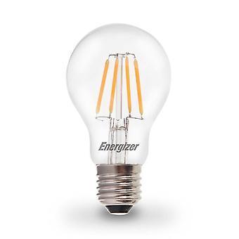 1 x Energizer LED Filament GLS ampoule lampe Vintage ES E27 clair 4.5W = 40W E27 ES Cap [classe énergétique A +]