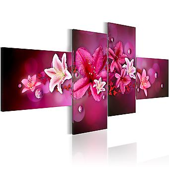 Canvas Print - Lilies and pearls
