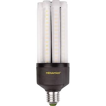 Megaman LED (monochromatyczny) EWG A++ (A++ - E) E27 Rod 35 W = 180 W Chłodny biały (Ø x L) 63 mm x 188 mm 1 szt.