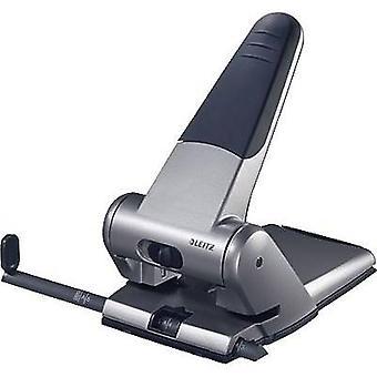 Leitz 51800084 Heavy Duty Punch zilver selecteerbaar papierformaat (max.): a3 65 vellen (80 g/m²)