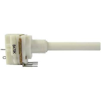 Weltron WP20EKCILS-12-50F1-10K-20%-LIN Zug rotary Pot + Schalter Mono 0,2 W 10 kΩ 1 PC