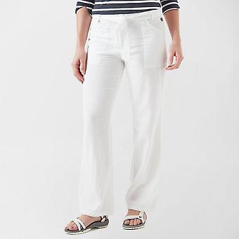 New Regatta Women's Casual Quinetta Coolweave Trousers White