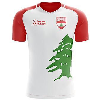 2020-2021 Lebanon Home Concept Football Shirt - Womens