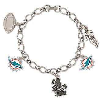 Wincraft dames van charmes armband - NFL Miami Dolphins