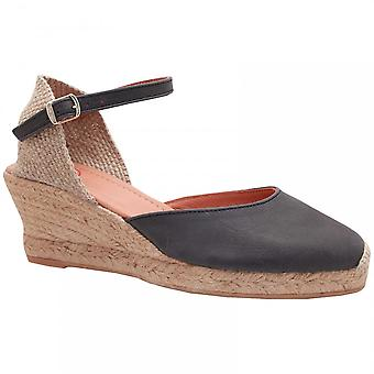 Toni Pons Ankle Strap Espadrille Wedge Sandale