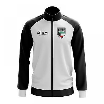 Kuwait käsite jalkapallo Track Jacket (valkoinen)
