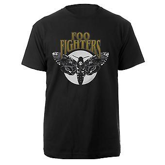 Foo Fighters-Black Hawk Moth T-Shirt