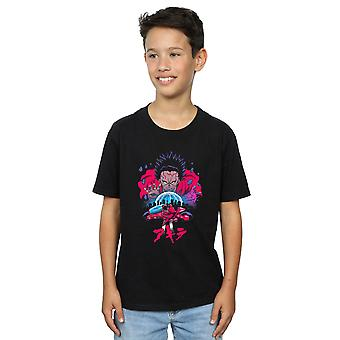 Vincent Trinidad meninos Neo Tóquio distópico t-shirt