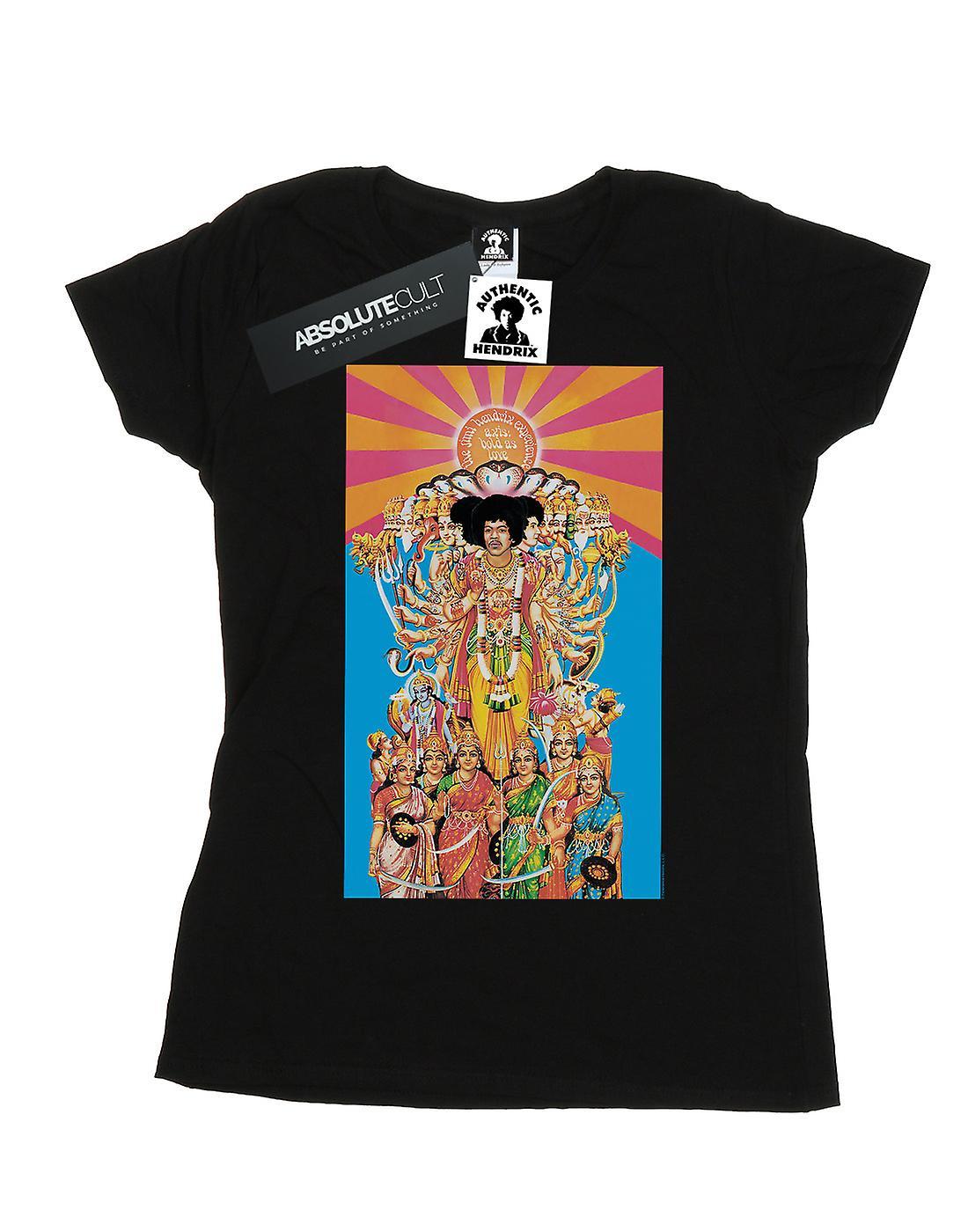 Jimi Hendrix Women's Axis Bold As Love T-Shirt