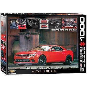 Chevrolet Camaro Star är Reborn 1000 bit pussel 680 x 490 mm (pz)