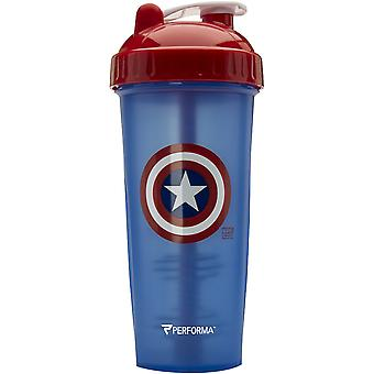 PerfectShaker Performa 28 oz. Hero Shaker Cup - Captain America - perfect bottle