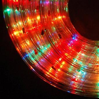 Multicolor Led Seil leicht Indoor Outdoor Weihnachten Xmas Garten verschiedene Längen