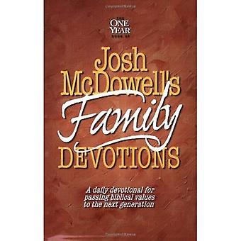 Josh McDowell kirja perheen hartaudet: päivittäin hartaus kulkee Raamatun arvojen seuraavan sukupolven