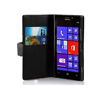 Cadorabo Case for Nokia Lumia 925 Case Cover - Phone Case in Smooth Faux Leather with Stand Function and Card Case - Case Case Case Case Case Case Book Folding Style