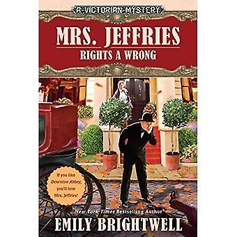 Mrs. Jeffries rettigheder en forkert (victorianske Mystery)