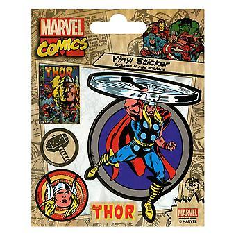 Thor personaje vinilo pegatina conjunto