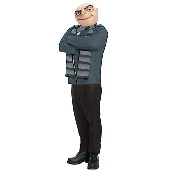 Gru Minion Super Villain Despicable Me Men Costume