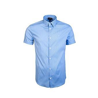 Emporio Armani Business-regulier kraag shirt 8N1C10 1N06Z