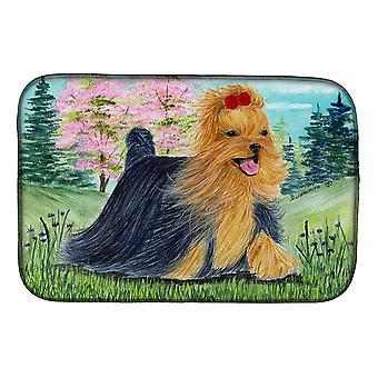 Carolines Treasures  SS8188DDM Yorkie Dish Drying Mat