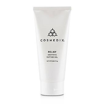 Cosmedix Elite Relief Calmante Peptide Gel - Tamanho do salão - 170g/6oz