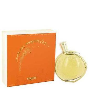 L'ambre des Merveilles door Hermes Eau de parfum spray 3,3 oz (vrouwen) V728-516999