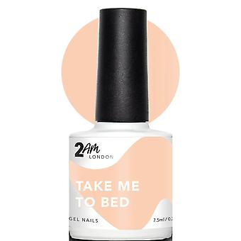 2AM London Get Naked 2019 LED/UV Gel Polish Collection - Take Me To Bed 7.5ml (2G011)