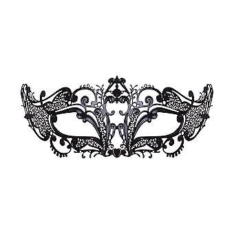 Bristol nyhed unisex voksne Filigree slim line metal kat maske