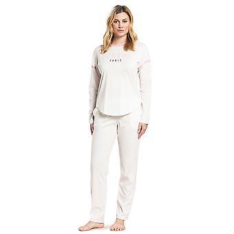 Feraud 3191047-11697 Women's Casual Chic Ivory Off-White Cotton Loungewear Sweatshirt