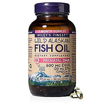 Wiley's Finest Wiley's Finest Prenatal DHA 180 Count