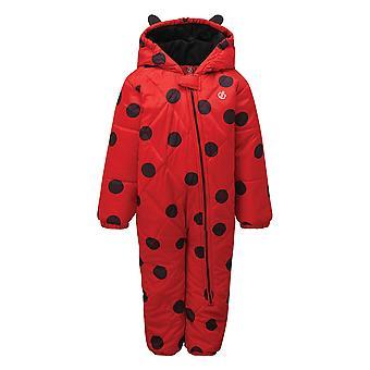 敢 2B 儿童/儿童班比诺瓢虫雪衣