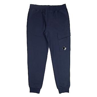 CP Company Diagonal Raised Fleece Lens Sweat Pantalon Marine 888