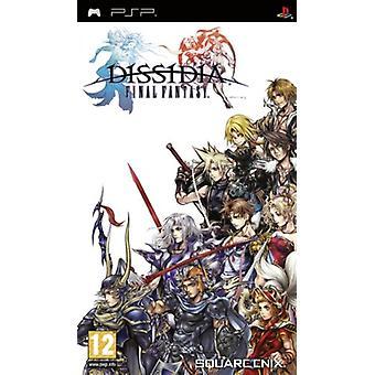 Dissidia Final Fantasy (PSP) - New