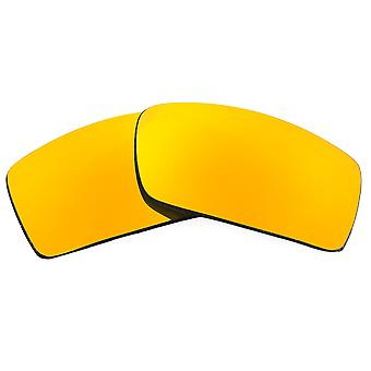 Polarized Replacement Lenses for Oakley Gascan Sunglasses Gold Anti-Scratch Anti-Glare UV400 by SeekOptics