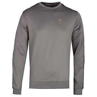 Luke 1977 Trico Mid Grey Sweatshirt