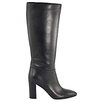 Marc Fisher Womens Zimra Leather Almond Toe Knee High Fashion Boots