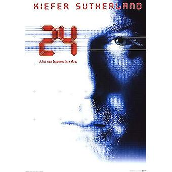 24 (Reprint) affisch för nytryck
