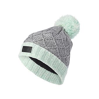 Rip Curl Wool Pompom Girl Bobble Hat in Paloma