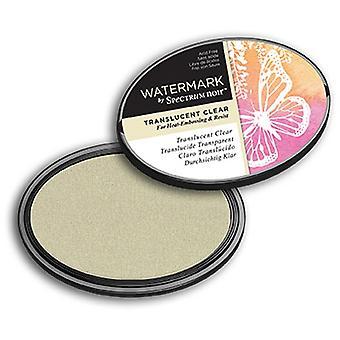 Spectrum Noir Ink Pad Watermark Translucent Clear