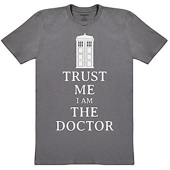 Trust Me I Am The Doctor - Mens T-Shirt