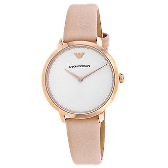 Armani Women-apos;s Two Hand Silver Dial Watch - AR11160