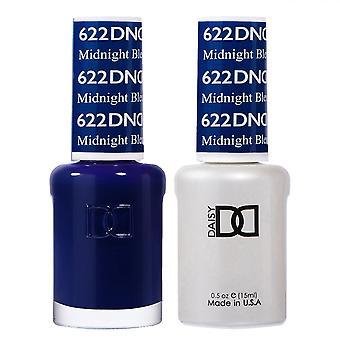 DND Duo Gel & Nail Polish Set - Midnight Bleu 622 - 2x15ml