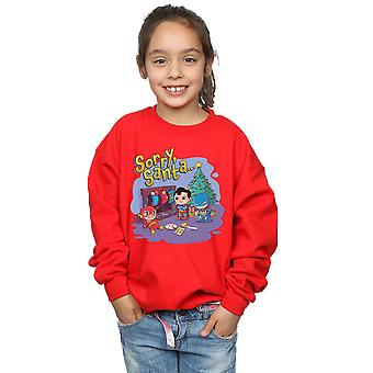 DC Comics meisjes Super vrienden Sorry Santa Sweatshirt