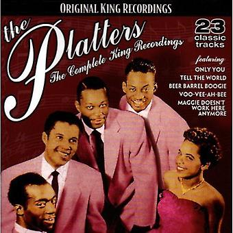 Platters - Platters: Complete King Recordings [CD] USA import