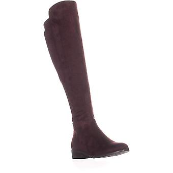 Michael Kors kvinner Bromley Leather lukket tå over kneet riding Boots