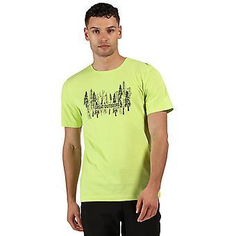 Regatta menns breezed Cotton casual grafisk T-skjorte
