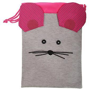 Childrens/Kids 3D Animal Design Drawstring Lunch Bag