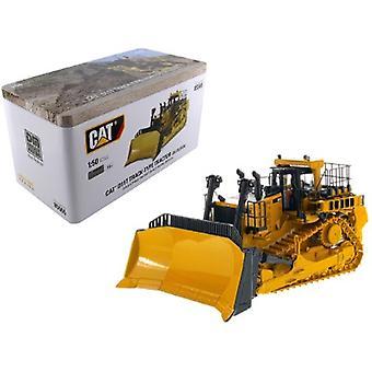 Cat Caterpillar D11T Track Type Tractor Dozer JEL Design avec Operator High Line Series 1/50 Diecast Model par Diecast Masters
